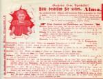 Werbeblatt für ALMA-Hühneraugenringe (ca. 1905)