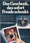 Anzeige für Polaroid 1974