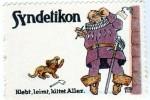 Reklamemarke für Syndetikon (ca. 1910)