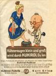Werbeblatt für Kukirol (Januar 1924)