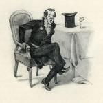 """Der geleimte Liebhaber. Vignette aus der Novelle """"Syndetikon"""""""