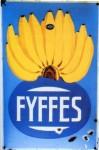 """Emailschild """"Fyffes"""" (ca. 1925)"""