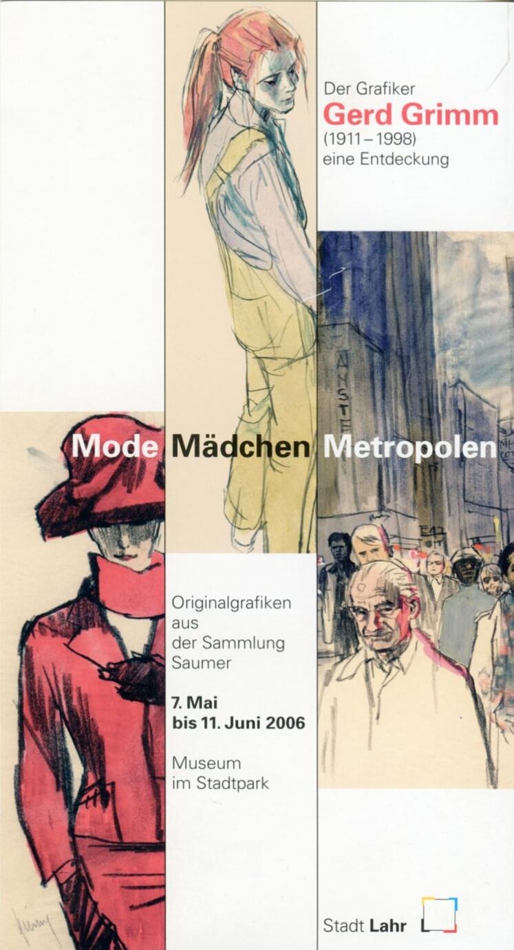 Plakat zur Grimm-Ausstellung in Lahr 2004