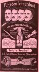 Anzeige für Hoffriseu Monsier Haby's Bartformprodukte von 1901