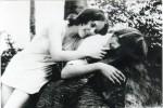 Kirsten Steiger und Dirk Schindelbeck im Sommer 1970