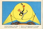 """Seite aus einem """"Lebewohl""""-Werbe-Bilderbuch (50er Jahre)"""
