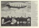 """Zeppelin """"bombardiert"""" Berlin mit Odol-Produkten (1930)"""