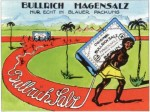 Reklamemarke für Bullrich-Salz (1911)