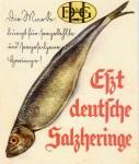 Werbezettel zur Umstellung von Fleisch- auf Fischkonsum von 1940