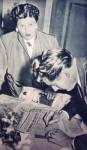 Fritz Walter und Frau Italia