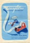 Papier-Tüte mit Tesafilm-Werbung von 1959