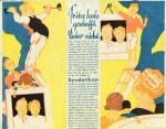 Pergamin-Blatt mit Syndetikon-Werbung (30er Jahre)