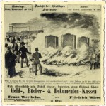 """Anzeige aus der """"Illustirten Zeitung"""" 1854"""
