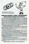 Typische Negativ-Kampagne (Januar 1925)