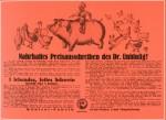 Mit Doktor Unblutig ein Schwein gewinnen. Preisausschreiben 1923