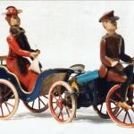"""Die """"weinende Braut"""": Blechspielzeug um 1910:"""