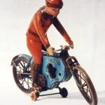 Lehmanns Motorradfahrer (um 1910)