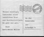 """Rückseite: Flucht eines DDR-Grenzers als Motivation (""""Mein großer Sprung"""")"""