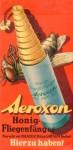 Werbezettel für einen Fliegenfänger (50er Jahre)
