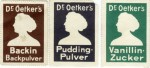 "Reklamemarken mit Dr. Oetkers ""Hellkopf"""