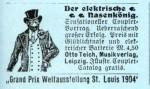 """Der """"Nasenkönig"""" von 1904"""