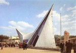 Der futuristisch anmutende Phillips-Pavillon