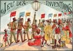 Gänsespiel für Kinder zur Pariser Weltausstellung 1900