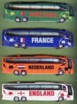 Der letzte Versuch mit Fußball-Bussen anlässlich der WM 2006 (schon mit billigen China-Modellen)