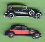 Rickoricko-Modelle nach 30er Jahre Vorbildern (Lincoln und Horch)