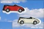 Nur beim VW-Händler erhältlich: Wiking-Käfer und New-Beetle im Set