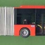 Rietze Gelenkbus in Mini-Auflage für die Freiburger Verkehrs-AG