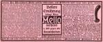 """Annoce für den Darmentlüfter """"Mello"""" von 1904"""