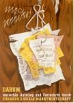 WAAGE-Plakat zur Bundestagswahl 1953